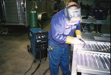 proper welding machine